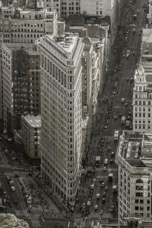 Usa, New York, Manhattan, Midtown, the Flatiron Building