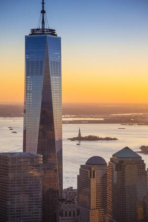 One World Trade Center, Lower Manhattan, New York City, New York, USA