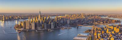 Lower Manhattan from Brooklyn, New York City, New York, USA