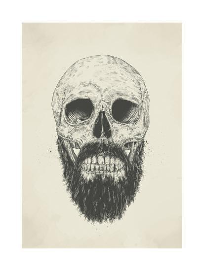 The Beard Is Not Dead Giclee Print by Balazs Solti at AllPosters.com