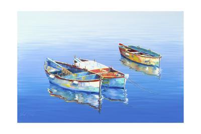 3 Boats Blue 1