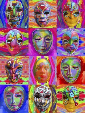 Pop Art Masks