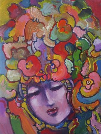 Mardi Gras Lady 615 4