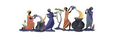 Women Pouring
