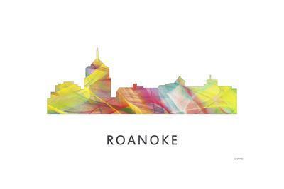 Roanoke Virginia Skyline
