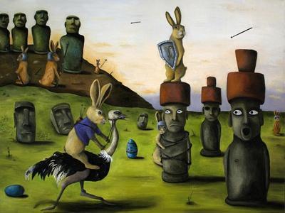 Battle over Easter Island