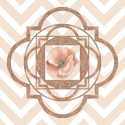 Persian Rose Gold Quatrefoil