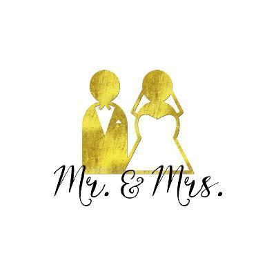 Wedding Couple Mr Mrs