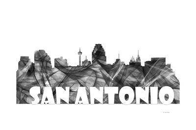 San Antonio Texas Skyline BG 2