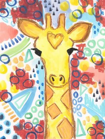 Watercolor - Giraffe
