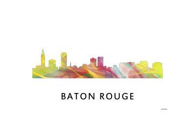 Baton Rouge Louisiana Skyline