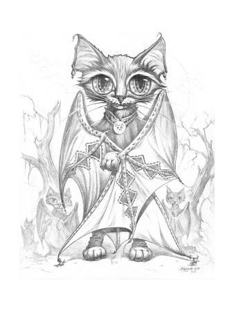 Bat Cat Commander Pencil