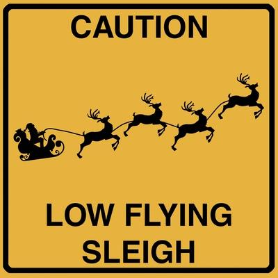 Low Flying Sleigh