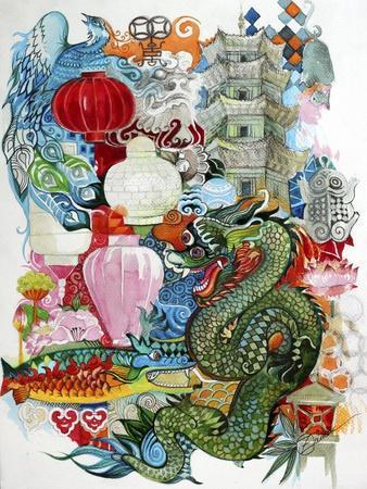 Folk Dragon