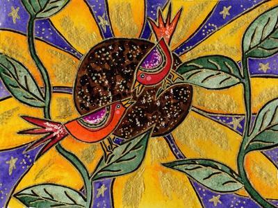 Birdies and Sunflower