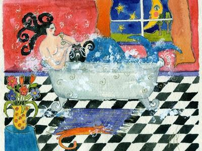 Big Diva Mermaid Bubble Bath