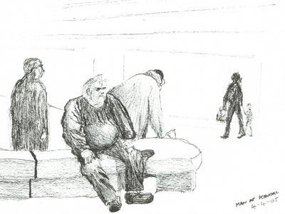 Man at Kendal, 2005