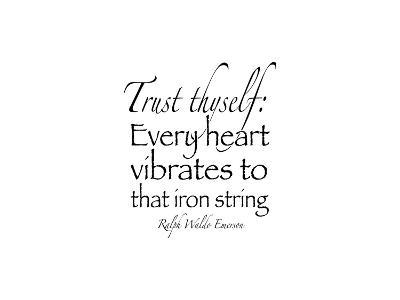 Trust Thyself II