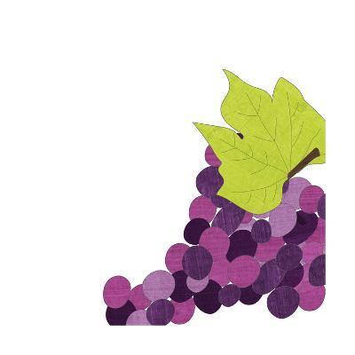 Watercolor Grapes