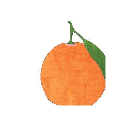 Watercolor Orange