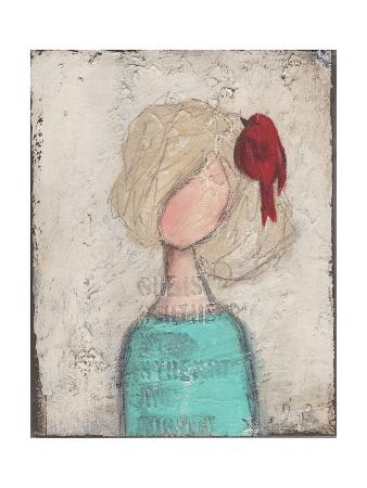 Girl Red Bird
