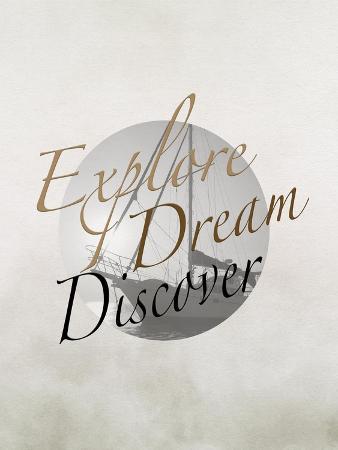Explore, Dream, Discover Boat