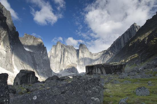 Lotus Flower Tower in Cirque of the Unclimbables Photographic Print by Chad Copeland at AllPosters.com