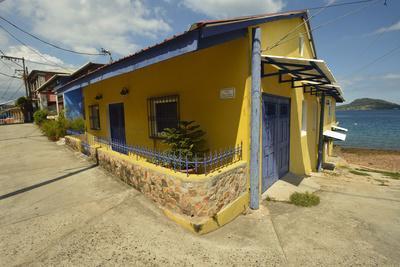 Colorful Houses on Taboga Island