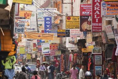 Thamel, Kathmandu's Commercial Neighborhood