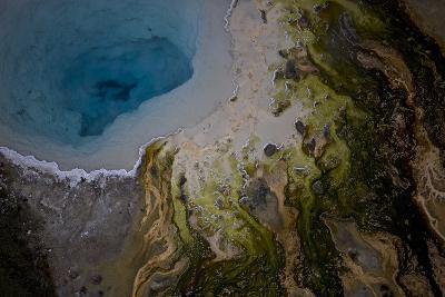 Silex Spring in Yellowstone National Park's Lower Geyser Basin