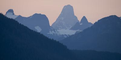 Devil's Thumb Mountain, Near Le Conte Glacier, in the Stikine Icecap Region of the Alaska