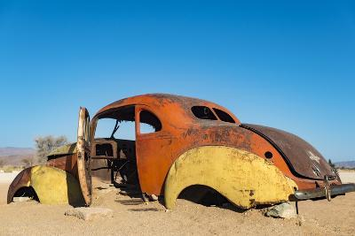 An Abandoned Car Near the Small Town of Solitare in Namibia