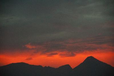Sunrise Atop Haleakala, an Extinct Volcano on the Island of Maui in Hawaii