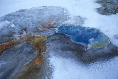 Gentian Pool in Yellowstone National Park's Lower Geyser Basin