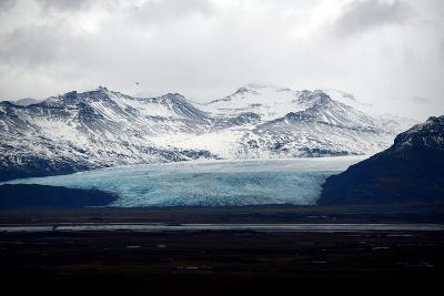 Glaciers in Vatnajokull National Park on the South Coast of Iceland