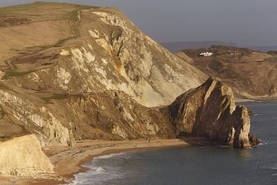 Durdle Door, a Rock Arch on the Jurassic Coast World Heritage Site, Near Lulworth Cove
