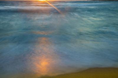 Sunrise Above Kawa'Aloa Bay on Molokai's North Shore