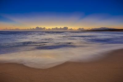 Sunrise Above Kawa'Aloa Bay on Molokai's North Shore