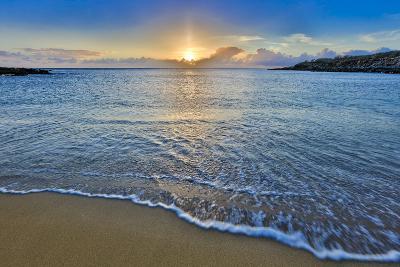 Sunset Above Kawakiu Nui Beach on Molokai's West End