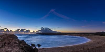 Dawn Breaks Above Kawa'Aloa Bay on Molokai's North Shore