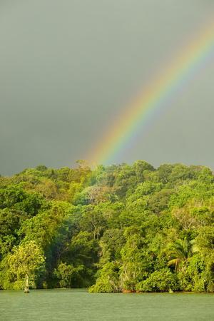 A Rainbow over Barro Colorado Island, Panama