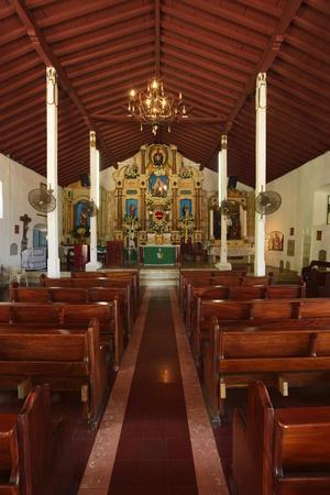 Interior of San Pedro Church on Taboga Island