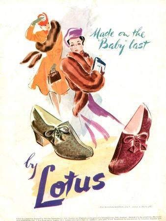 1940s UK Lotus Ltd Magazine Advert