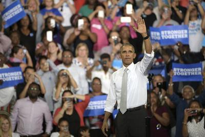 Obama Campaign 2016 Clinton