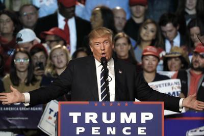 APTOPIX Election 2016 Trump