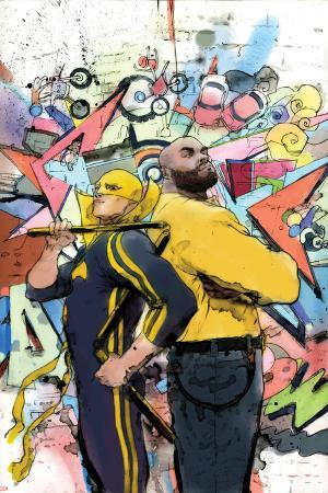 Power Man and Iron Fist No. 3 Cover Art Featuring: Iron Fist, Power Man