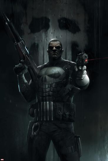 The Punisher No 1 Cover Art Prints By Francesco Mattina