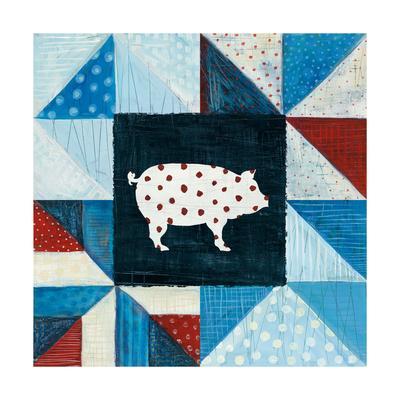 Modern Americana Farm Quilt V