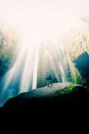 In The Light, Iceland Waterfalls and Epic Light