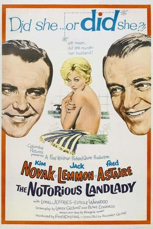 The Notorious Landlady, 1962